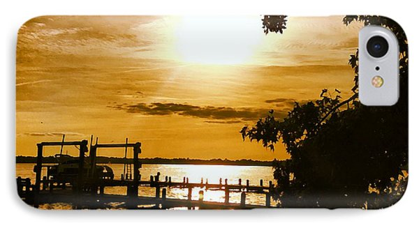 River Acres Jaynes Sunset IPhone Case