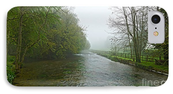 River Anton IPhone Case by Andrew Middleton