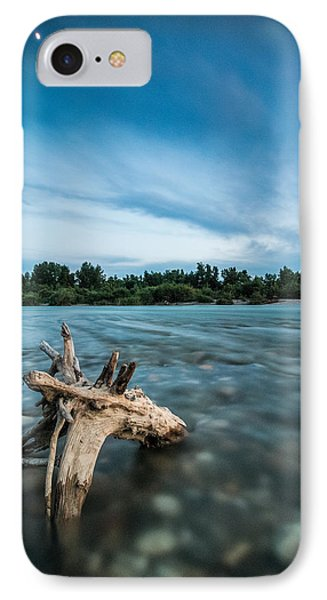 River At Night Phone Case by Davorin Mance