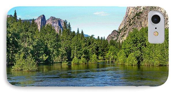 Yosemite National Park IPhone Case by Menachem Ganon