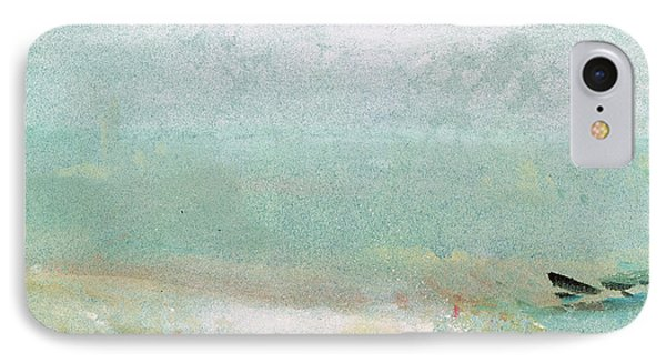 River Bank IPhone Case by Joseph Mallord William Turner