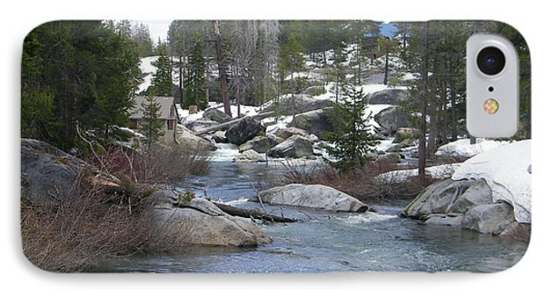 IPhone Case featuring the photograph River Bend  by Bobbee Rickard