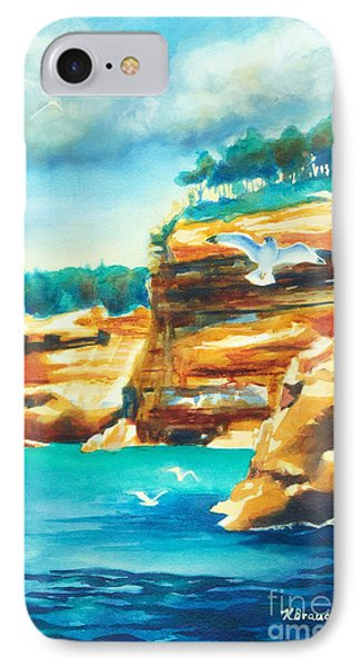 River Cliffs 2 Phone Case by Kathy Braud