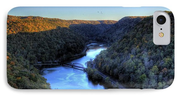 IPhone Case featuring the photograph River Cut Through The Valley by Jonny D