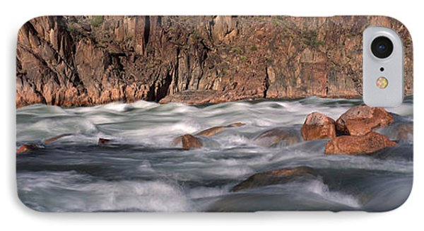 River Flowing Through Rocks, Grand IPhone Case by Panoramic Images