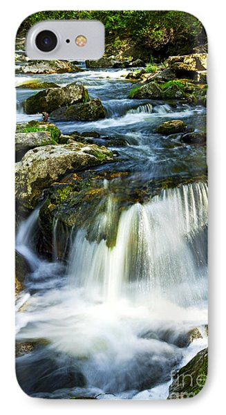River Flowing Through Woods IPhone Case by Elena Elisseeva
