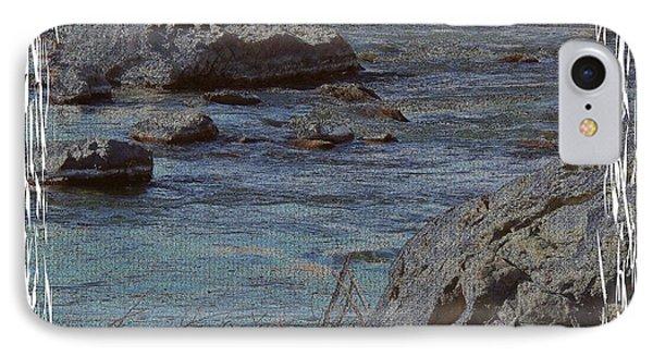 River Flows Phone Case by Bobbee Rickard