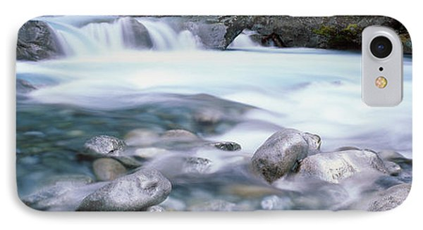 River, Hollyford River, Fiordland IPhone Case by Panoramic Images