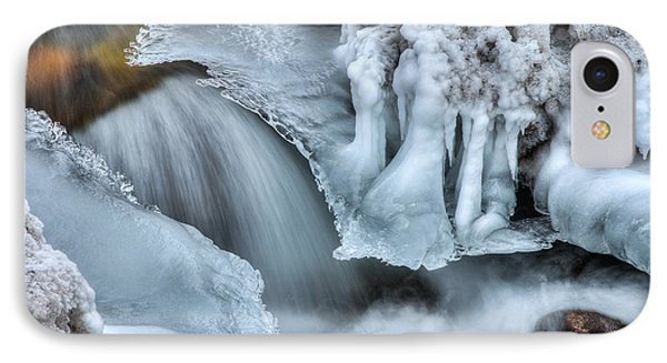 River Ice IPhone Case by Chad Dutson