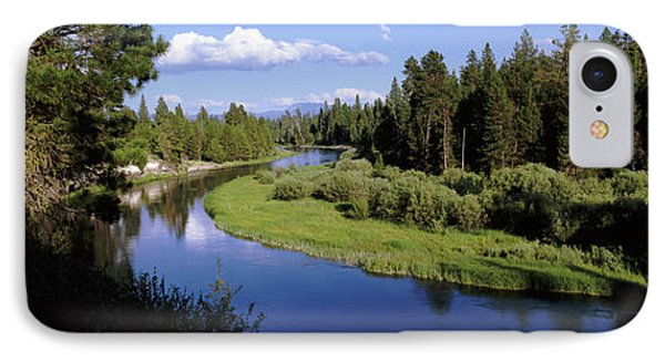 River In A Forest, Don Mcgregor IPhone Case by Panoramic Images