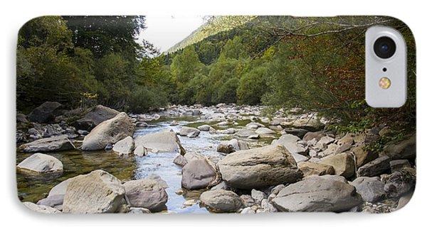 river in Ainsa IPhone Case