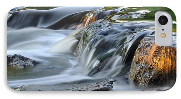 River In Slow Motion IPhone Case by Todd Soderstrom