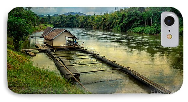 River Kwai Kanchanaburi  IPhone Case by Adrian Evans