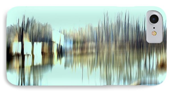 IPhone Case featuring the mixed media River Mill 2 by Terence Morrissey
