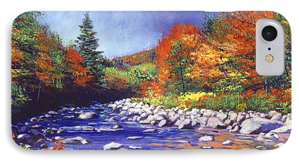 River Of Autumn Colors Phone Case by David Lloyd Glover