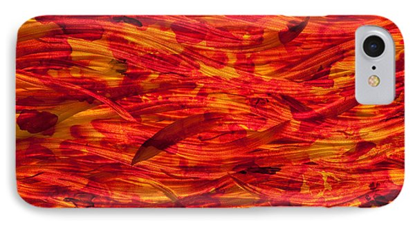 River Of Fire Phone Case by Rick Roth