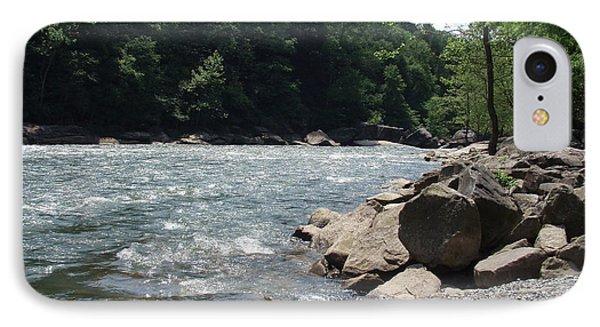 IPhone Case featuring the photograph River Rapids by Deborah DeLaBarre