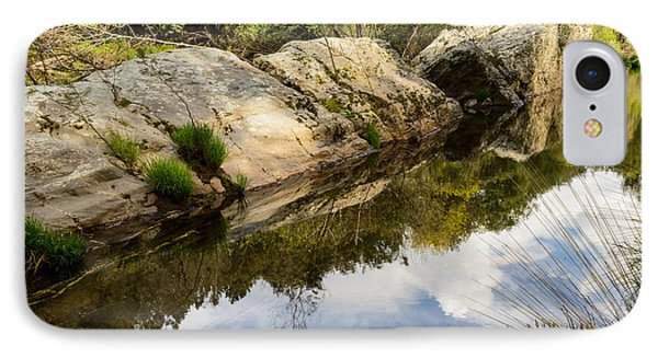 River Reflections IIi IPhone Case by Marco Oliveira