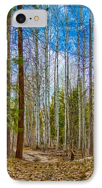River Run Trail At Arrowleaf IPhone Case by Omaste Witkowski