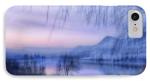River Sunset IPhone Case by Theresa Tahara