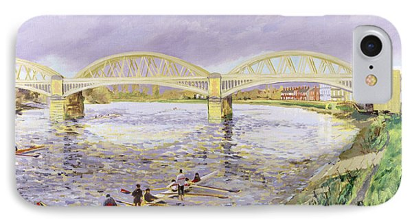 River Thames At Barnes Phone Case by Sarah Butterfield