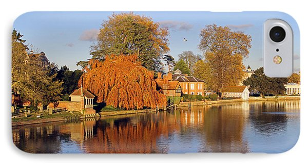 River Thames At Marlow IPhone Case by Tony Murtagh