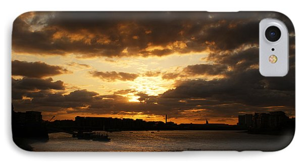 River Thames From Greenwich IPhone Case