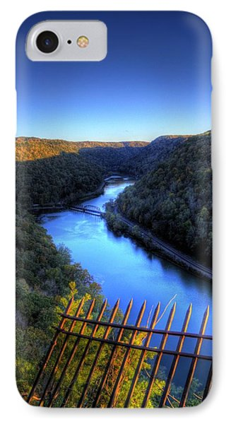 IPhone Case featuring the photograph River Through A Valley by Jonny D