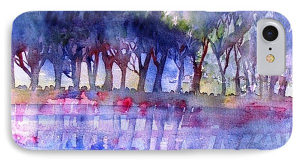 River Trees  Phone Case by Trudi Doyle