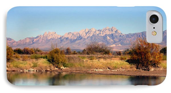 River View Mesilla IPhone Case by Kurt Van Wagner