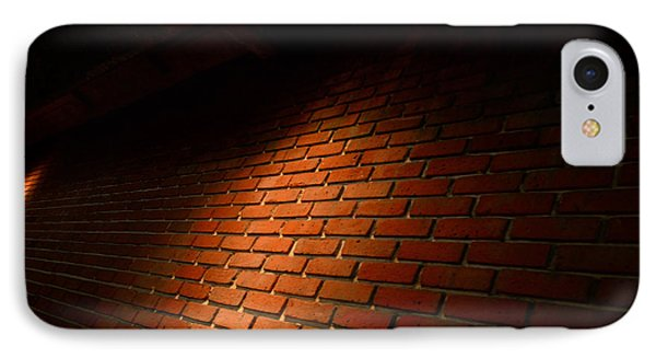 River Walk Brick Wall Phone Case by Shawn Marlow