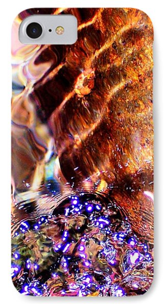 River Water Abstract IPhone Case by Peter Mooyman
