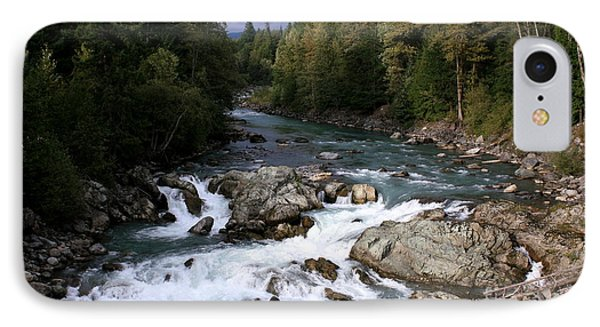 River Whistler Mountains IPhone Case by Amanda Holmes Tzafrir