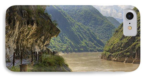 River Yangzi IPhone Case by Ray Devlin