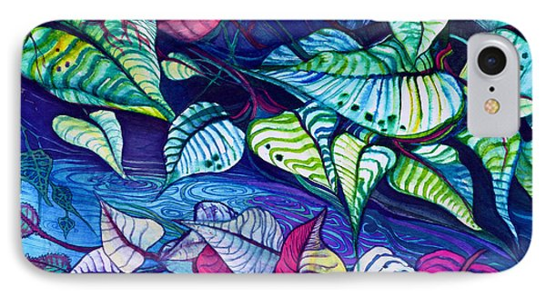 Riverbank Foliage IPhone Case by Adria Trail