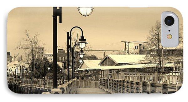 Riverfront IPhone Case by Cynthia Guinn