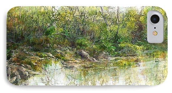 River's Edge Phone Case by Elizabeth Crabtree