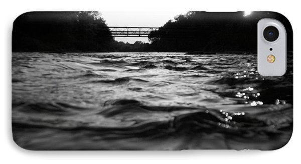 IPhone Case featuring the photograph Rivers Edge by Michael Krek
