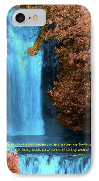 Rivers Of Living Water IPhone Case by Bruce Nutting