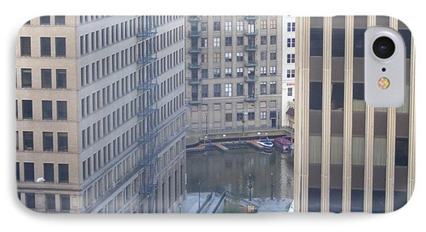 IPhone Case featuring the photograph Riverwalk by Nancy Kane Chapman