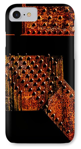 Rivets Number Two Phone Case by Bob Orsillo