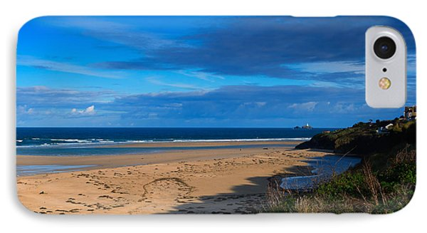 Riviere Sands Cornwall Phone Case by Louise Heusinkveld