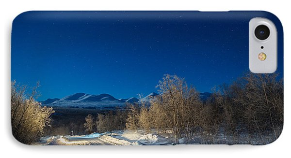 Road And Landscape, Cold Temperatures IPhone Case by Panoramic Images