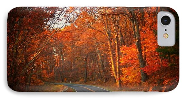 Road In The Park IPhone Case by Joyce Kimble Smith