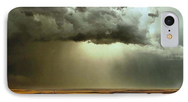 Road Into The Storm IPhone Case by Steven Reed