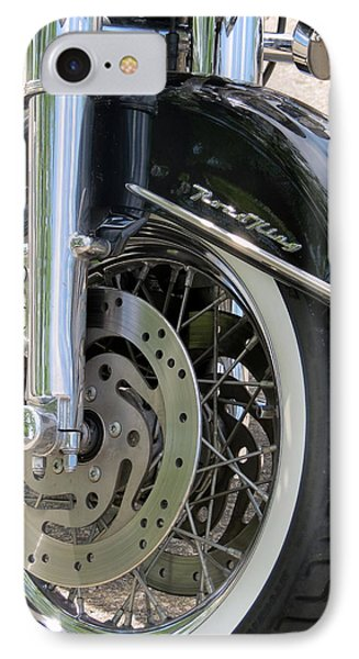 Road King IPhone Case by Kay Novy
