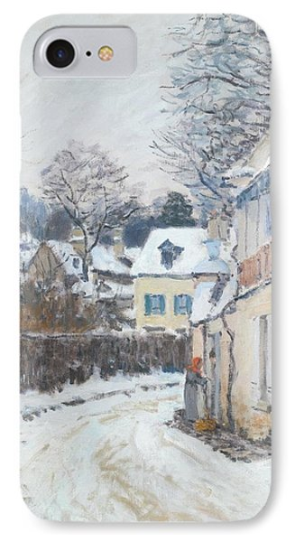 Road Louveciennes IPhone Case by Alfred Sisley