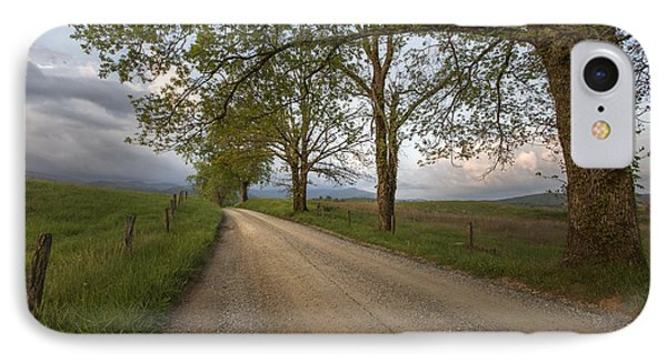 Road Not Traveled II IPhone Case by Jon Glaser