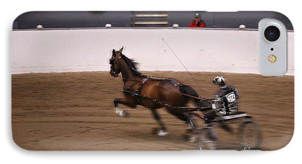 Road Pony At Speed IPhone Case by Carol Lynn Coronios