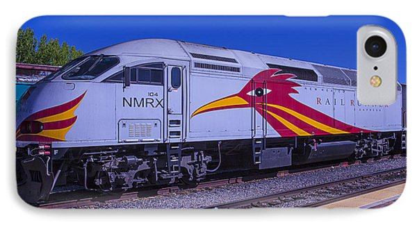 Roadrunner iPhone 7 Case - Road Runner Express Train by Garry Gay